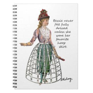 Bessie y su cuaderno de la falda del aro