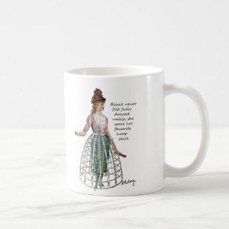 Bessie y su taza de la falda del aro