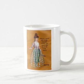 Bessie y su taza del collage de Digitaces de la
