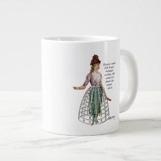 Bessie y sus tazas de la especialidad de la falda  taza grande