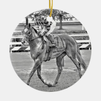 Bessie's Boy Sanford Stakes Ceramic Ornament