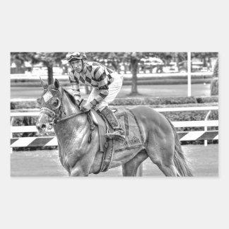 Bessie's Boy Sanford Stakes Rectangular Sticker