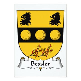 Bessler Family Crest Card