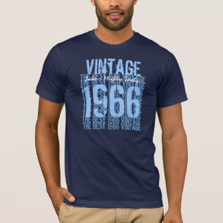 Best 1966 Vintage Tee Forties Birthday Gift