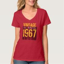 Best 1967 Vintage Tee Forties Birthday Gift