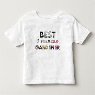Best 3-Year-Old Gardener T-shirt