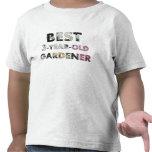 Best 3-Year-Old Gardener T-shirts