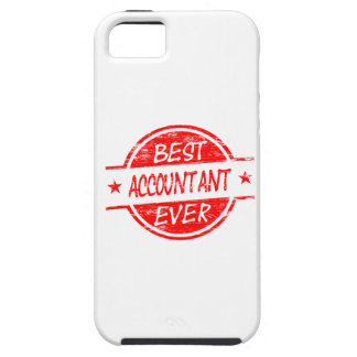 Best Accountant Ever Red iPhone SE/5/5s Case