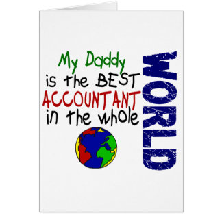 Best Accountant In World 2 (Daddy) Card
