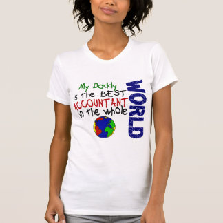 Best Accountant In World 2 (Daddy) T-Shirt