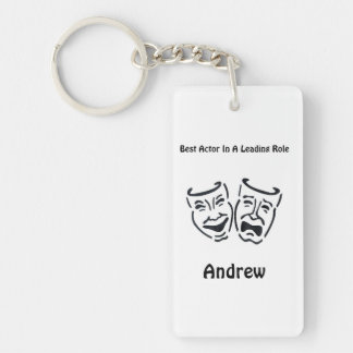 Best Actor/Lead Role: Andrew Single-Sided Rectangular Acrylic Keychain