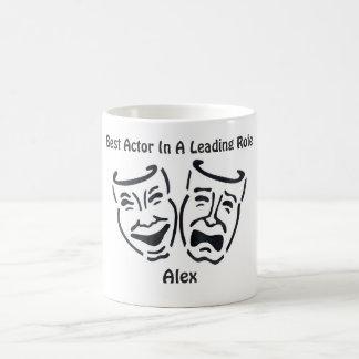 Best Actor/Leading Role: Alex Coffee Mug