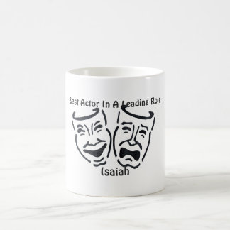 Best Actor/Leading Role: Isaiah Classic White Coffee Mug