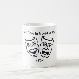 Best Actor/Leading Role: Troy Classic White Coffee Mug
