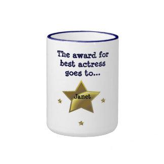 Best Actress Award: Janet Ringer Mug
