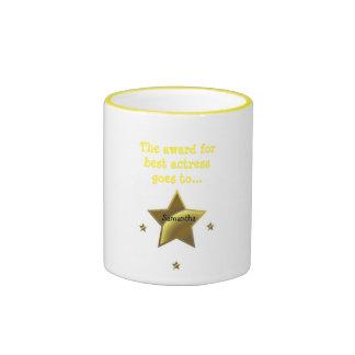 Best Actress Award: Samantha Ringer Coffee Mug