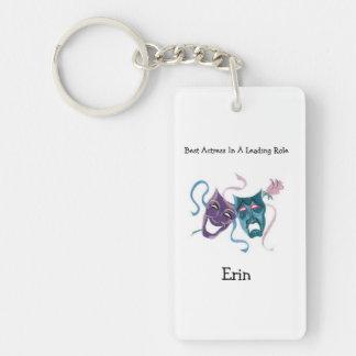 Best Actress/Lead Role: Erin Single-Sided Rectangular Acrylic Keychain