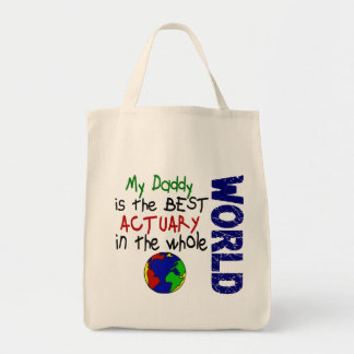 Best Actuary In World (Daddy) Tote Bag