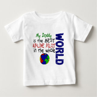 Best Airline Pilot In World 2 (Daddy) Infant T-shirt