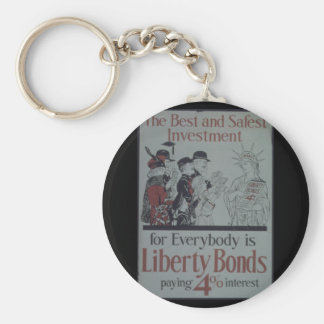 Best_and_Safest_Investment_Propaganda Poster Keychain