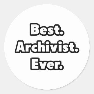 Best. Archivist. Ever. Stickers