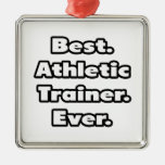 Best. Athletic Trainer. Ever. Christmas Ornament