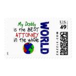 Best Attorney In World (Daddy) Stamps