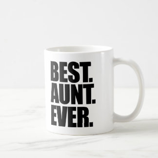 Best aunt ever classic white coffee mug