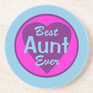 Best Aunt Ever Coasters