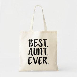 Best Aunt Ever funny bag