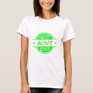 Best Aunt Ever Green T-Shirt