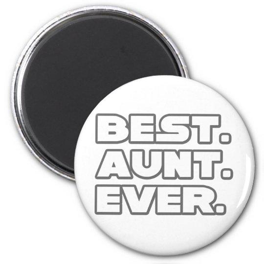 Best Aunt Ever Magnet