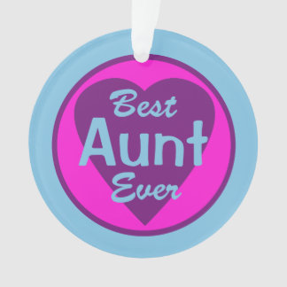 Best Aunt Ever Ornament