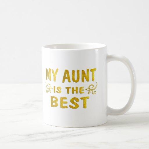Best Aunt Mugs