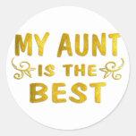 Best Aunt Sticker