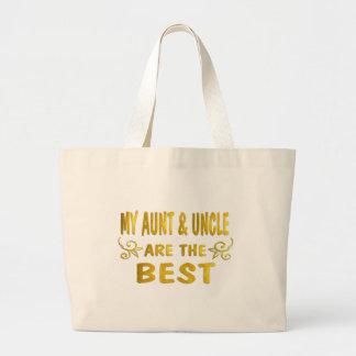 Best Aunt & Uncle Canvas Bags