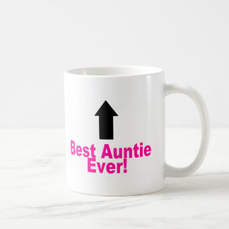 Best Auntie Ever Classic White Coffee Mug