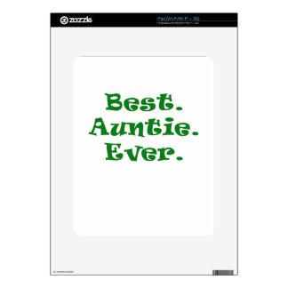Best Auntie Ever iPad Decal