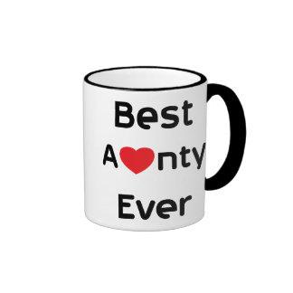 Best Aunty Ever Coffee Mug