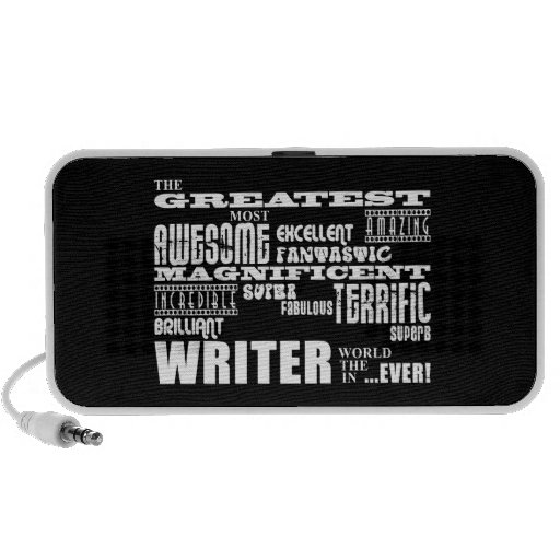 Best Authors and Writers : Greatest Writer iPod Speaker
