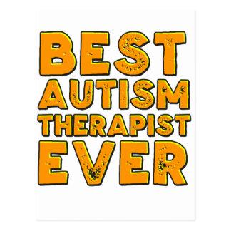 Best autism therapist ever postcard