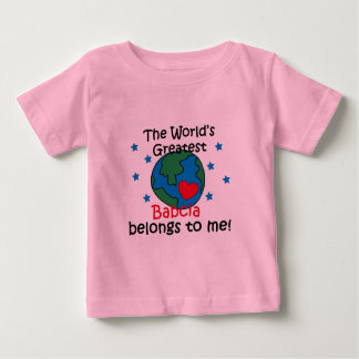 Best Babcia Belongs to me Baby T-Shirt
