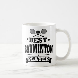 Best Badminton Player Classic White Coffee Mug