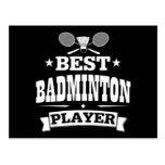 Best Badminton Player Post Card