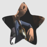 Best Band Competition Star Sticker