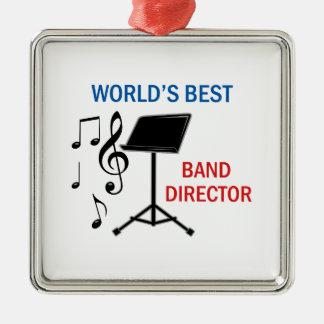 Best Band Director Metal Ornament