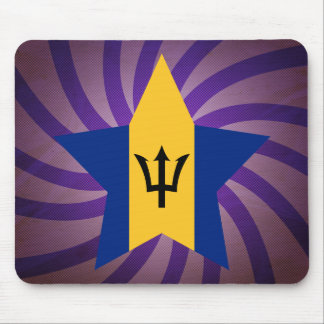 Best Barbados Flag Design Mouse Pad