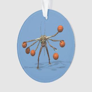 Best Basketball Dribbler Ornament
