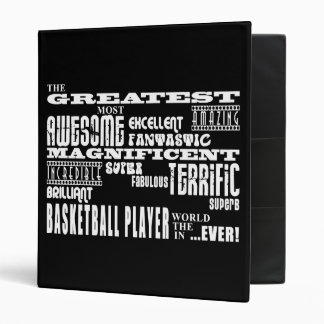 Best Basketball Players Greatest Basketball Player Vinyl Binder