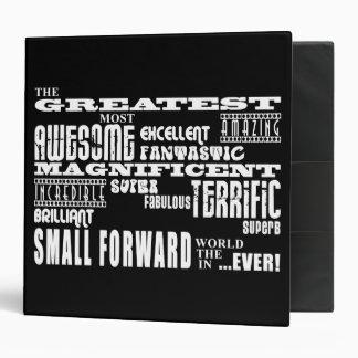 Best Basketball Players : Greatest Small Forward Vinyl Binders